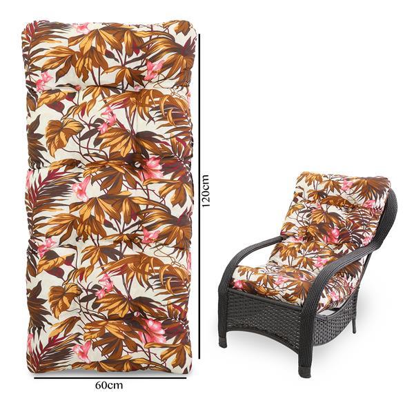 Almofada Para Cadeiras de Fibra Folhagem Outono