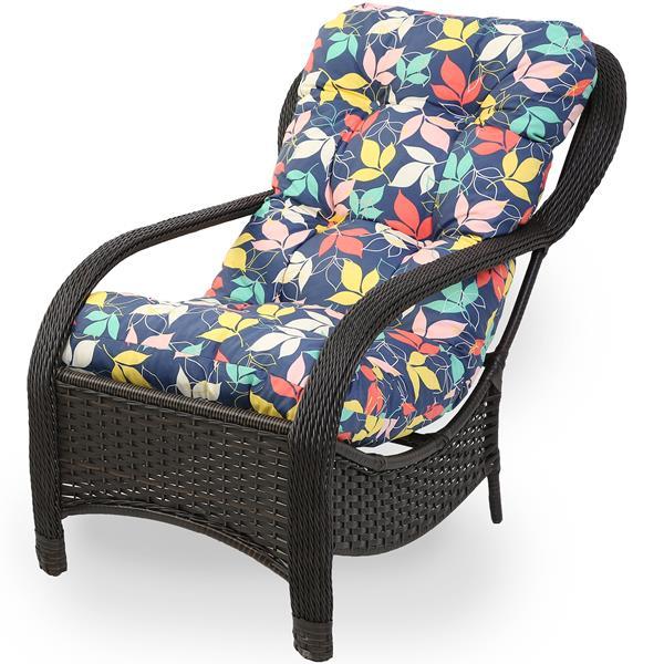 Cadeira de Fibra Com Almofada Impermeável Barça