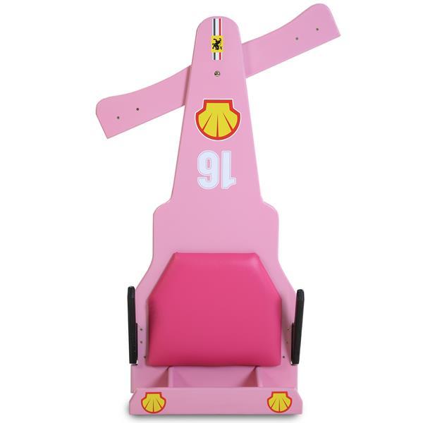 Carrinho de Rolimã F1 Com Rodas de Skate Rosa 16