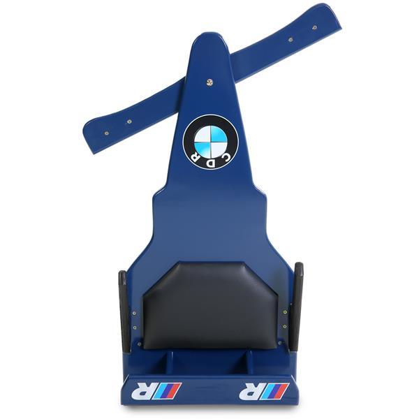 Carrinho de Rolimã F1 Junior Com Rodas de Skate Azul CDR