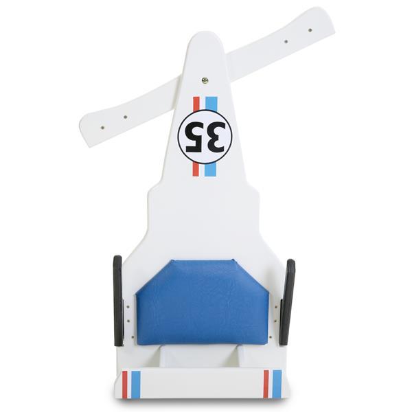 Carrinho de Rolimã F1 Junior Com Rodas de Skate Branco 35