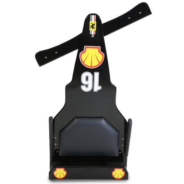 Carrinho de Rolimã F1 Junior Com Rodas de Skate Preto 16