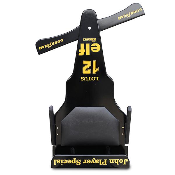 Carrinho de Rolimã F1 Junior Lotus Preto