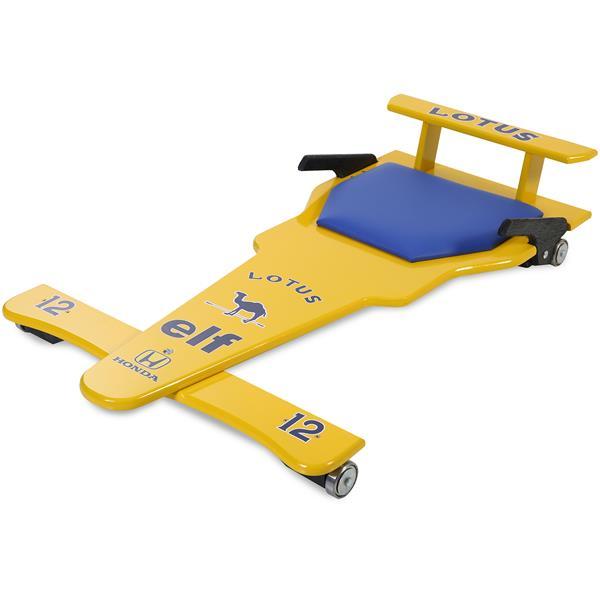 Carrinho de Rolimã F1 Lotus Amarelo