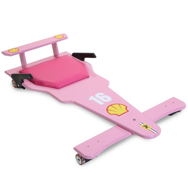 Carrinho de Rolimã F1 Rosa 16