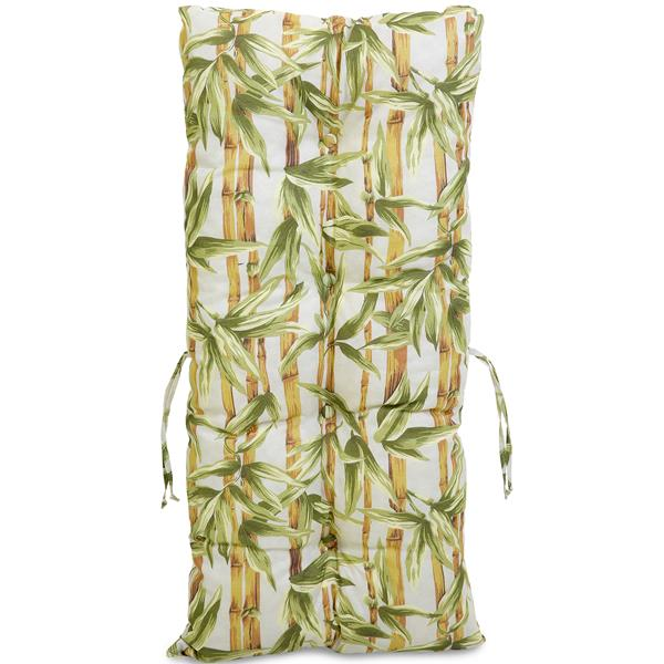 Kit 3 Almofadas Para Cadeiras de Bambu e Vime Bambu Claro