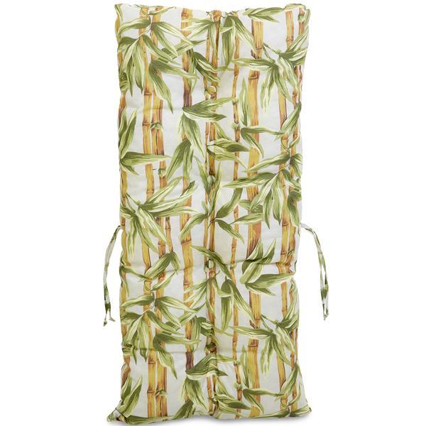 Kit 4 Almofadas Para Cadeiras de Bambu e Vime Bambu Claro