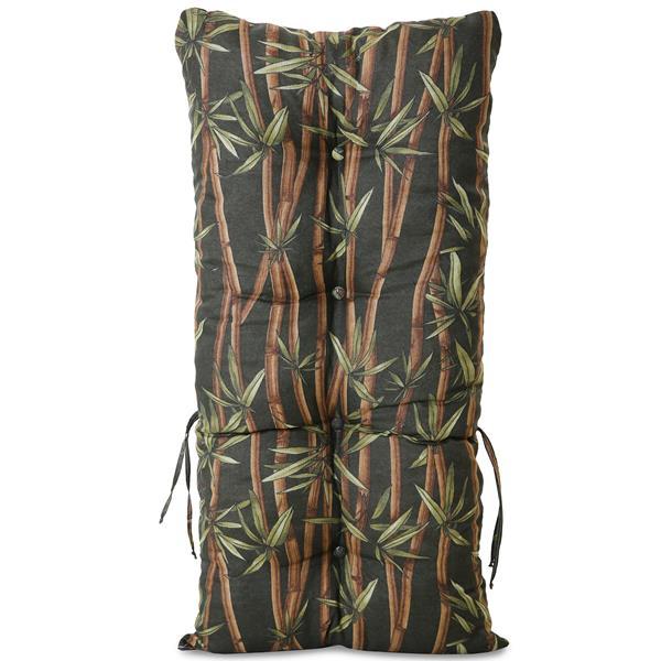 Kit 4 Almofadas Para Cadeiras de Bambu e Vime Bambu Escuro