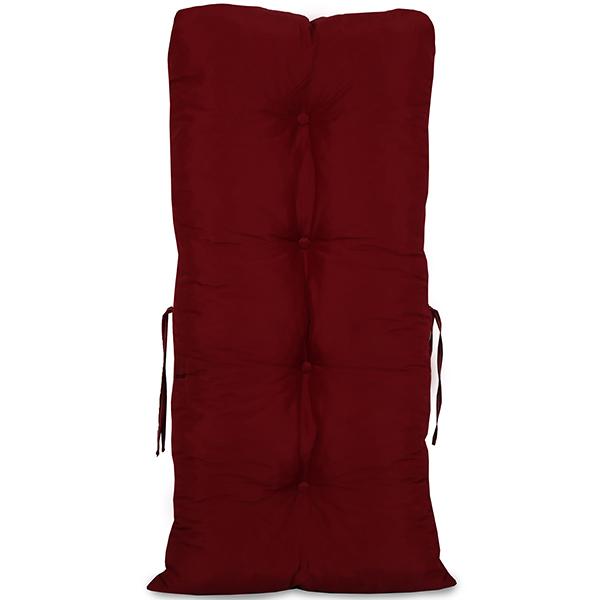 Kit 4 Almofadas Para Cadeiras de Bambu e Vime Marsala
