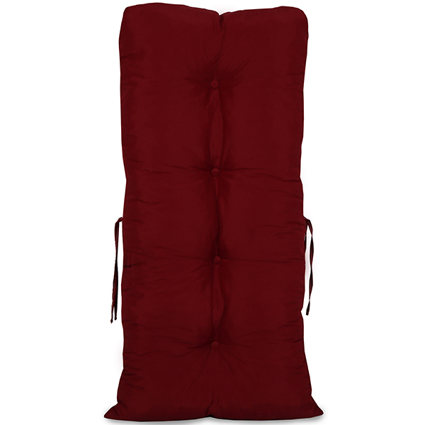 Kit 5 Almofadas Para Cadeiras de Bambu e Vime Marsala