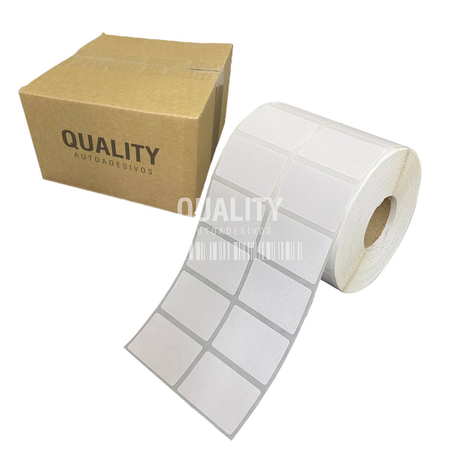 1000 Etiqueta Térmica 40x25mm 2 Colunas