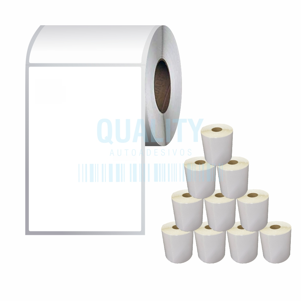 10 Rolos Etiqueta Térmica Envios Sigep Correios 10x15cm  - Etiqueta Certa
