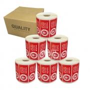 5 Rolos Etiqueta Lacre Segurança Delivery iFood Rappi Alimentos