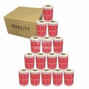 15 Rolos Etiqueta Lacre Segurança Delivery iFood Alimentos