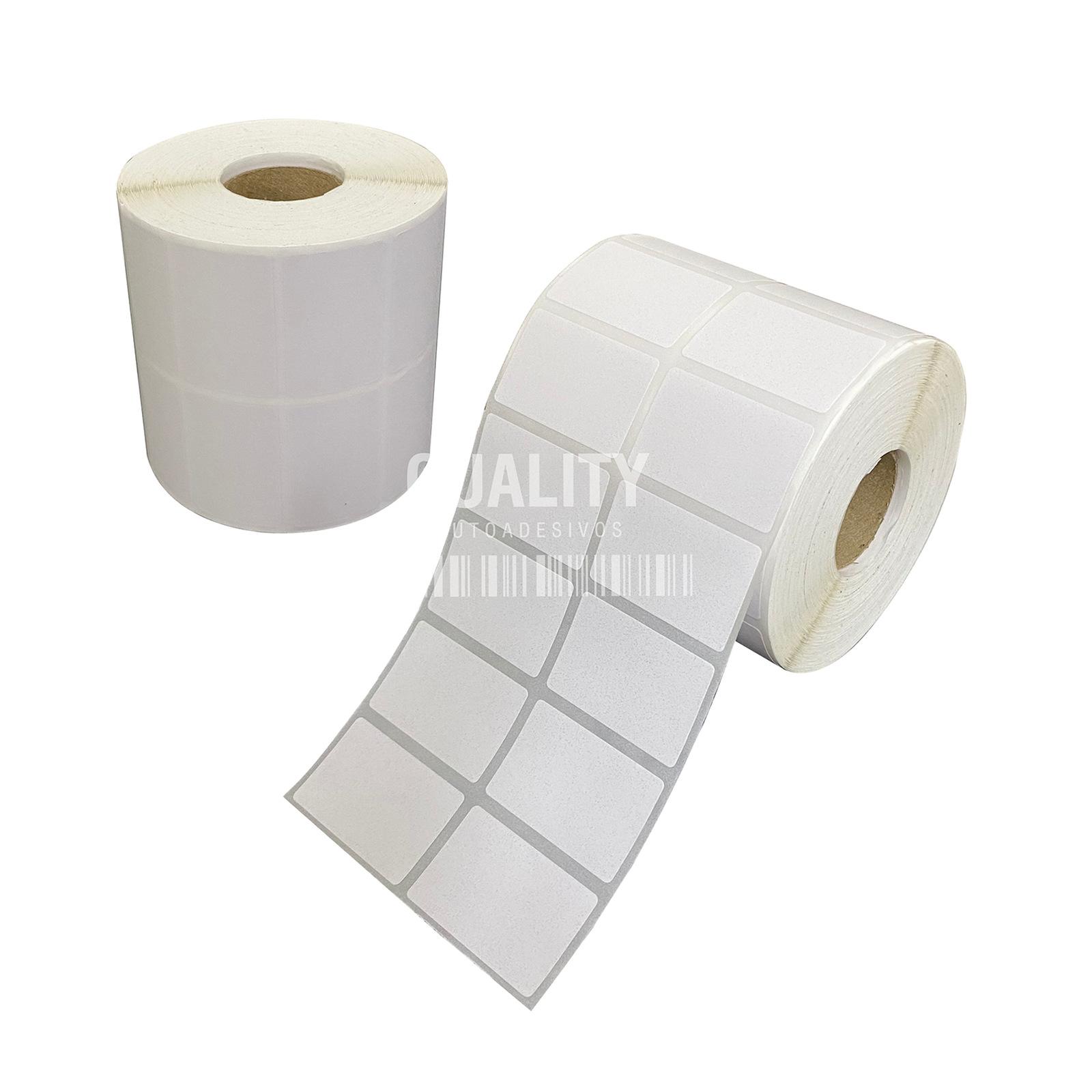 3000 Etiqueta Térmica 40x25mm 2 Colunas  - Etiqueta Certa
