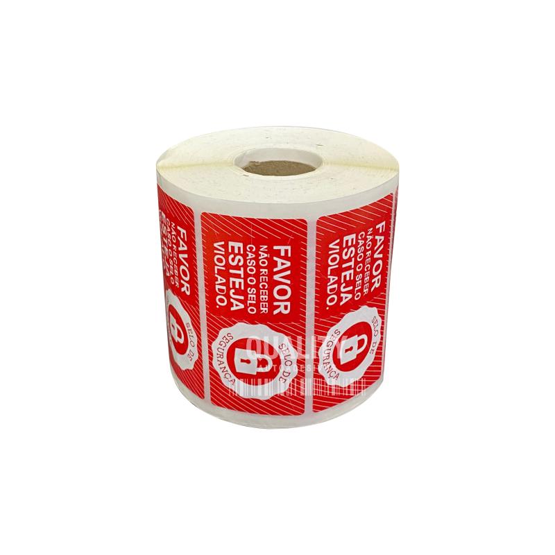 Etiquetas Adesivas Lacre Segurança Delivery iFood Alimentos Varias Cores  - Etiqueta Certa
