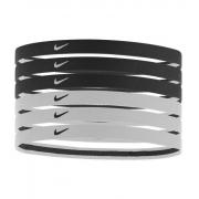 Hairband Nike - 6 Peças Branco e Preto