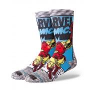 Meia Stance Marvel Iron Man Comic