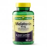 Melatonina - Spring Valley - 10mg - 120 Cápsulas