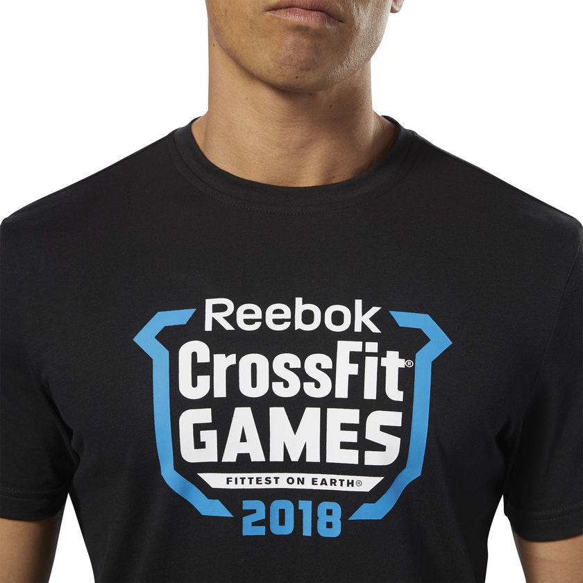 Camiseta Reebok Crossfit Games 18   - Rei do Wod