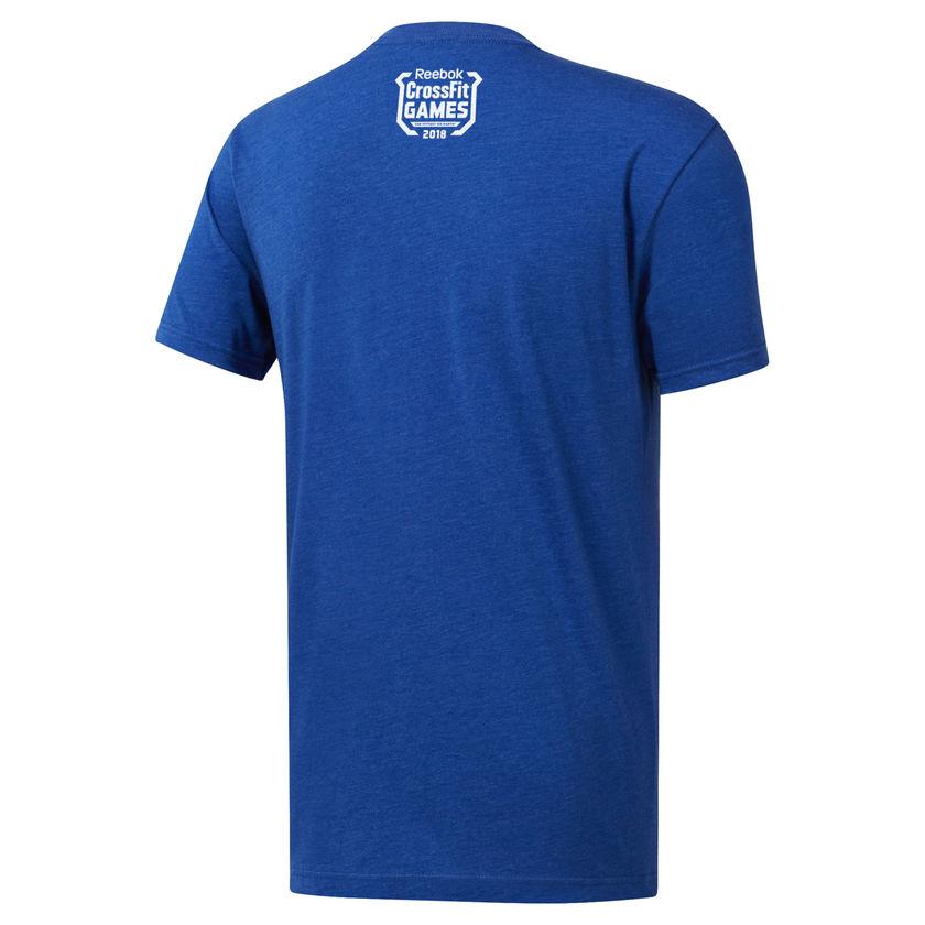 Camiseta Reebok Crossfit Games 18 - Brent Fikowski  - Rei do Wod