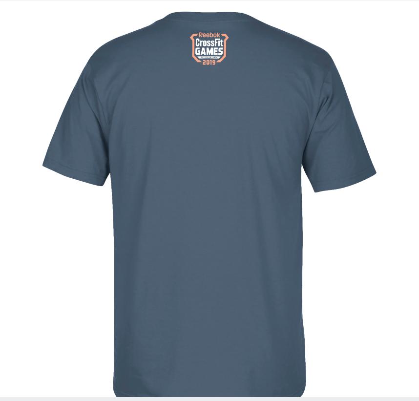 Camiseta Reebok Crossfit Games 19 - Brent Fikowski  - Rei do Wod