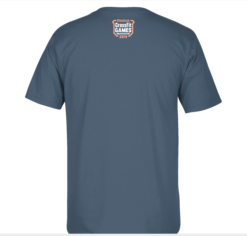 Camiseta Reebok Crossfit Games 19 - Patrick Vellner  - Rei do Wod