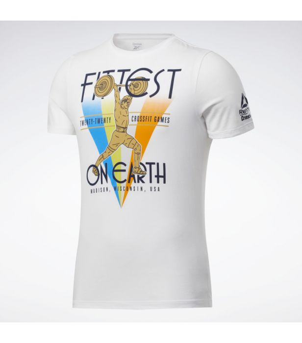 Camiseta Reebok Crossfit Games 2020 - Fittest on Earth  - Rei do Wod