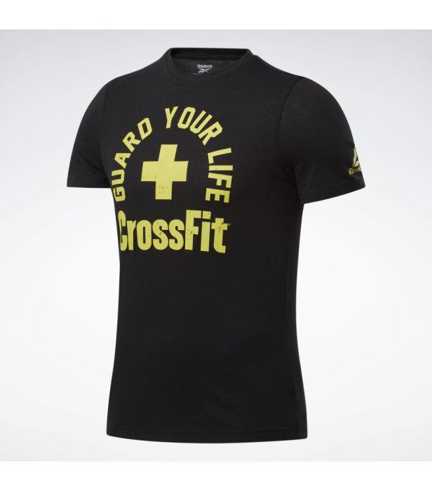 Camiseta Reebok Crossfit Guard Your Life  - Rei do Wod