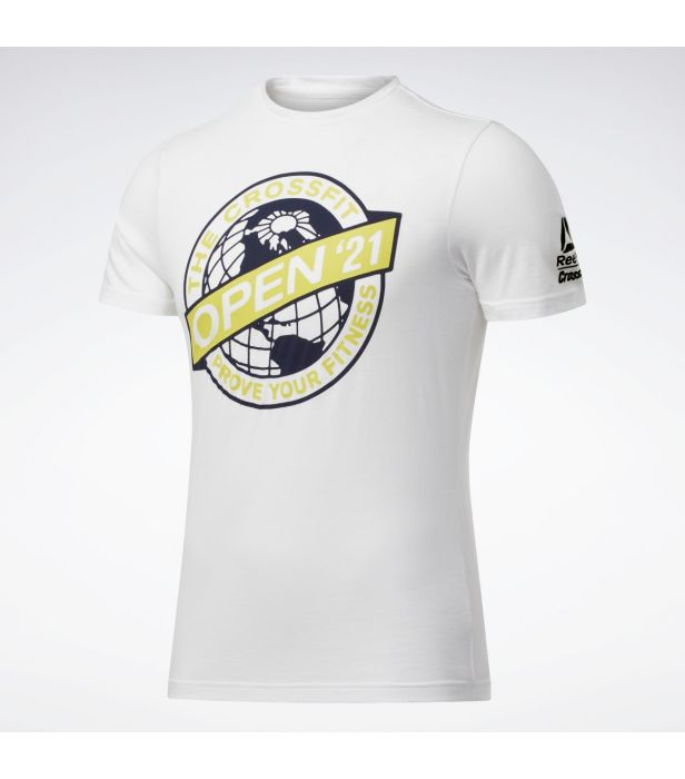 Camiseta Reebok Crossfit Open 2021  - Rei do Wod