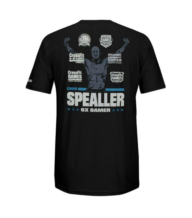 Camiseta Reebok Crossfit Spealler 6x  - Rei do Wod