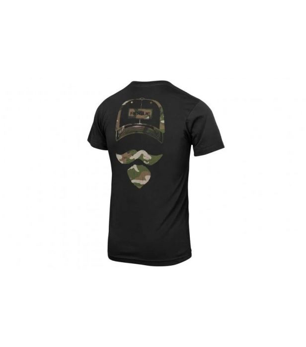 Camiseta Rogue Josh Bridges Stache  - Rei do Wod