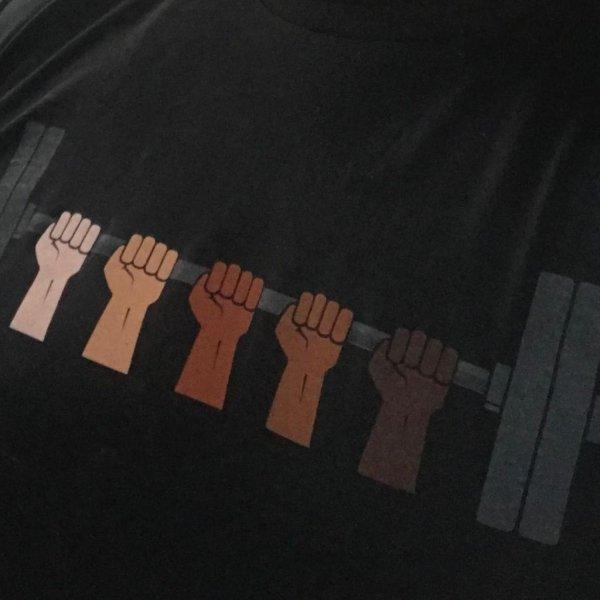 Camiseta Rogue Unity Barbell  - Rei do Wod