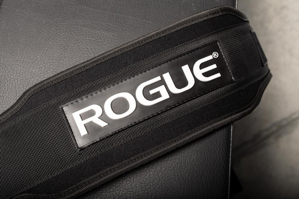 """Cinto Rogue Powerlifting 5""""  - Rei do Wod"""