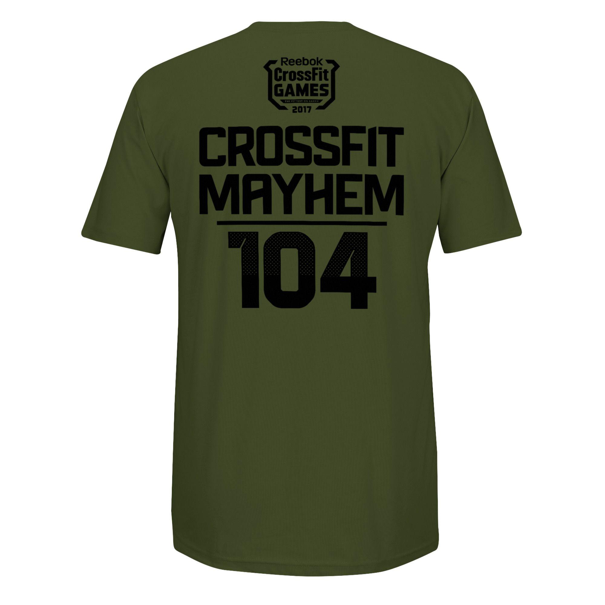 Camiseta Reebok Crossfit Games 17 - Team CrossFit Mayhem Freedom   - Rei do Wod