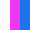 Branco Rosa e Azul