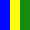 Azul Amarelo Verde