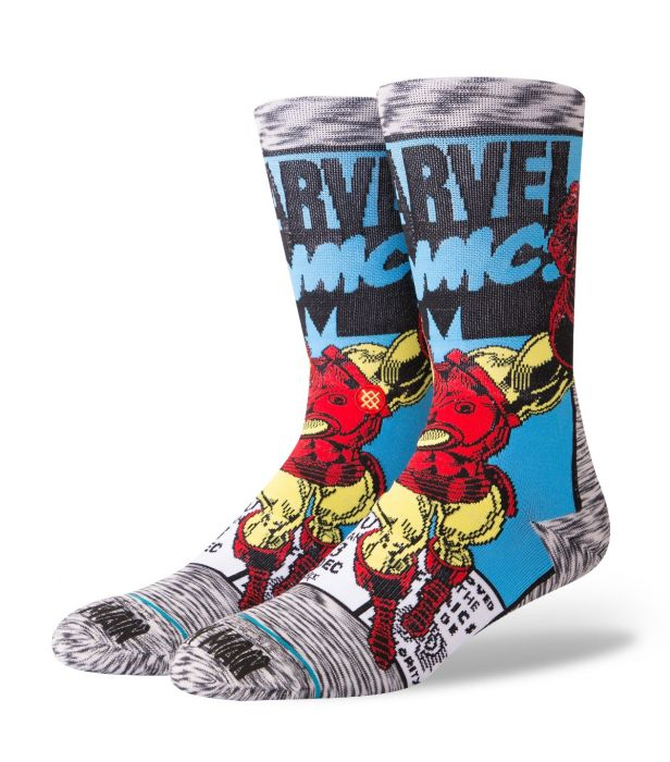 Meia Stance Marvel Iron Man Comic  - Rei do Wod