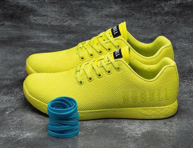 Tênis Nobull Amarelo Neon  - Rei do Wod