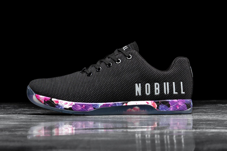 Tênis Nobull Black Space Floral  - Rei do Wod