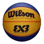 Bola De Basquete Wilson Fiba 3x3 Replica Game-amarelo/azul