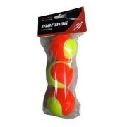 Bola De Beach Tennis Mormaii Tour Pack Com 3 Bolas