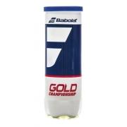 Bola De Tênis Babolat Gold Championship Tubo C/ 3 Bolas