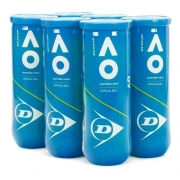 Bola De Tênis Dunlop Australian Open Pack Com 06 Tubos