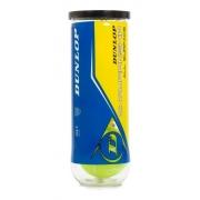 Bola De Tênis Dunlop Championship All Surface Tubo Com 3 Und