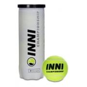 Bola De Tênis Inni Championship - 1 Tubo Com 3 Bolas