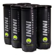 Bola De Tênis Inni Tournament Pack Com 6 Tubos