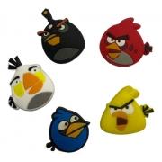Kit Antivibrador Angry Birds - 5 Unidades