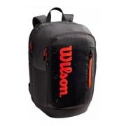 Mochila Wilson Tour Backpack Vermelha E Preta