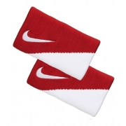 - Munhequeira Nike Doublewide Dri Fit 2.0 Vermelho/branco